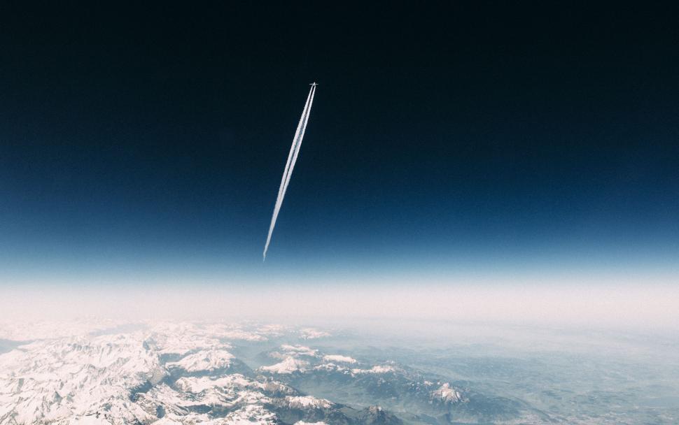 Download Free Stock Photo of turbine sky rocket cloud tower