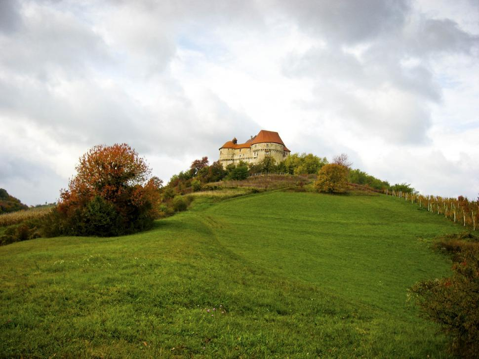 Download Free Stock Photo of castle on a hill