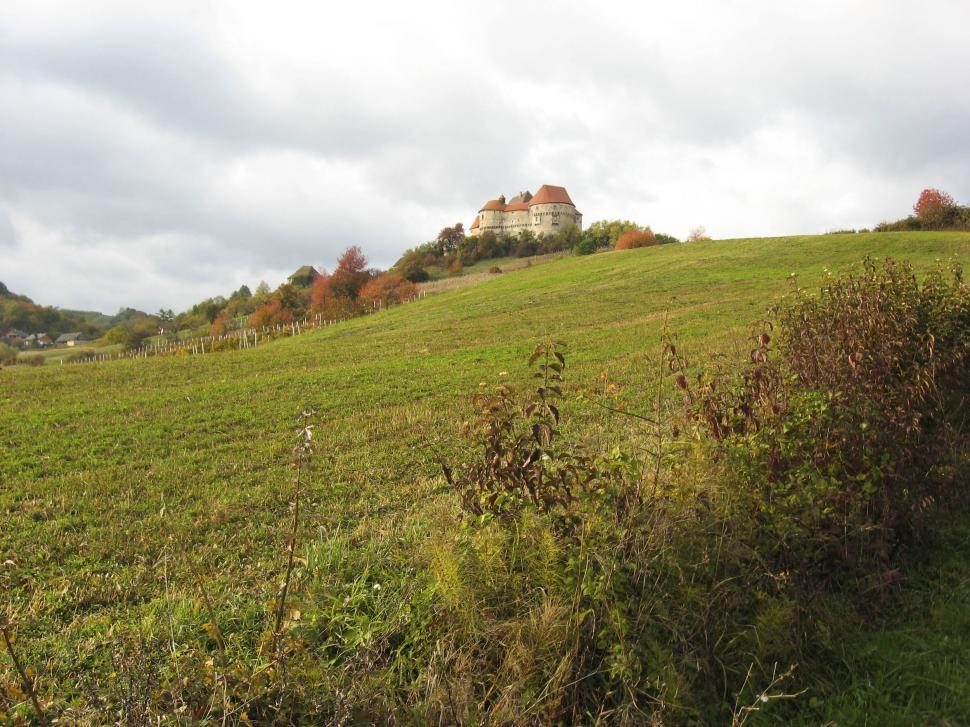 Download Free Stock HD Photo of castle on a hill Online