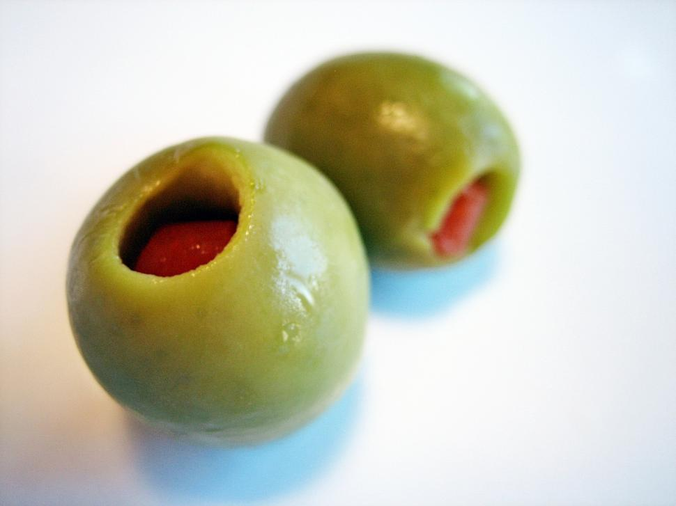 Download Free Stock HD Photo of Green Olive Online
