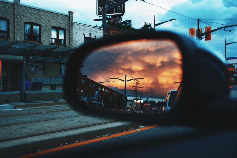 Download Free Stock Photo of mirror car mirror reflector car vehicle