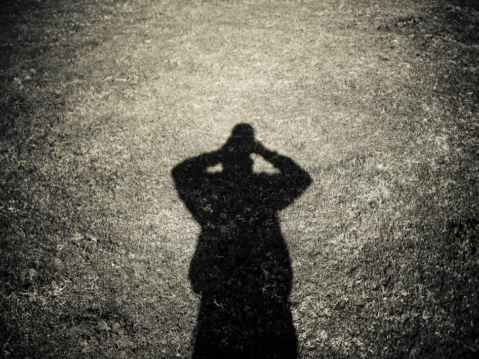 Download Free Stock Photo of shadow on the grass