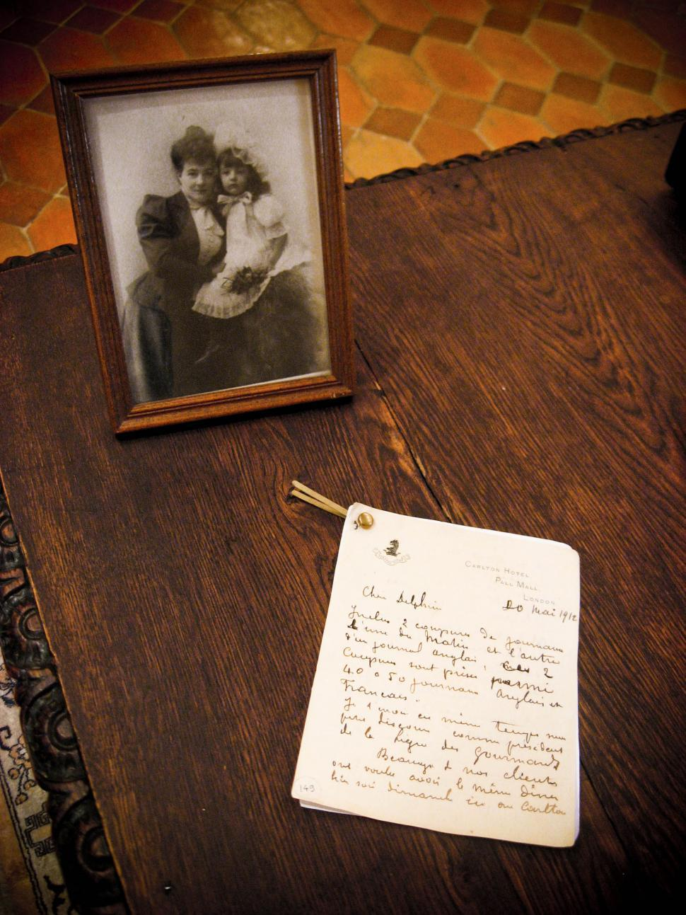 Download Free Stock Photo of old photograph and letter