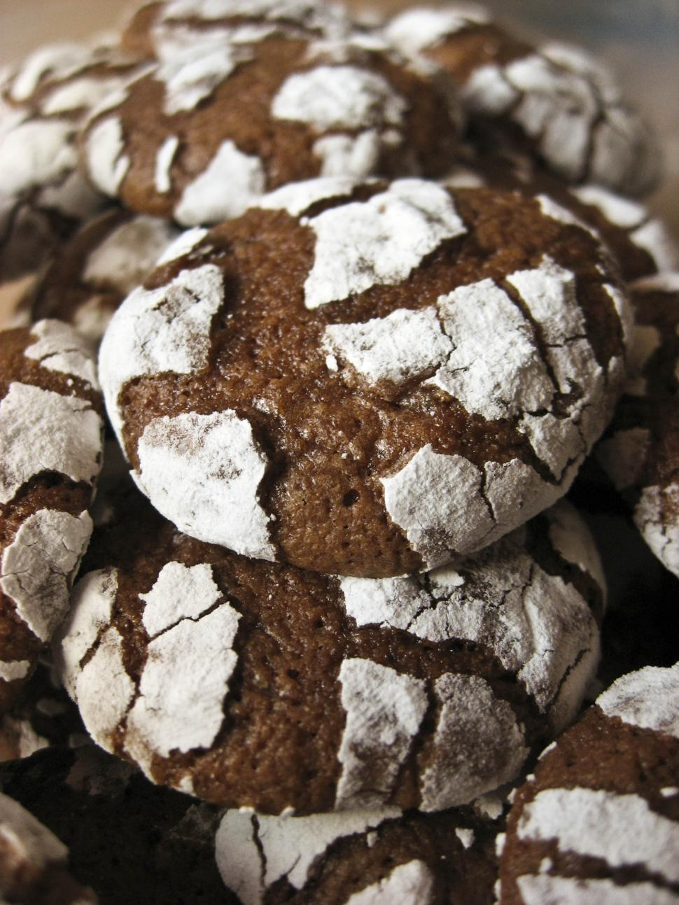 Download Free Stock Photo of chocolate cookies