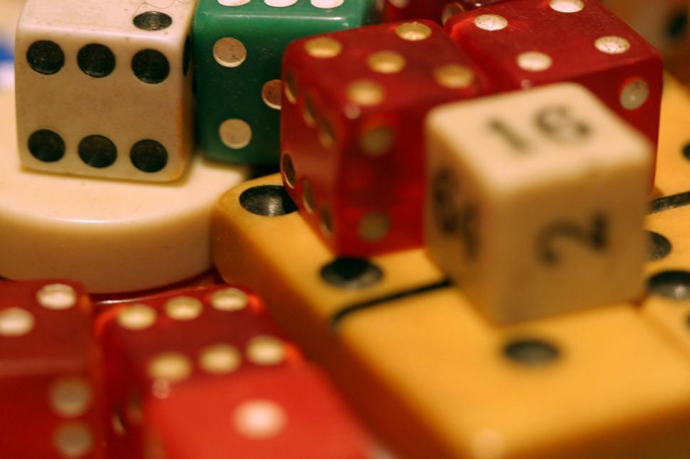 Download Free Stock HD Photo of Dice and Dominos  Online