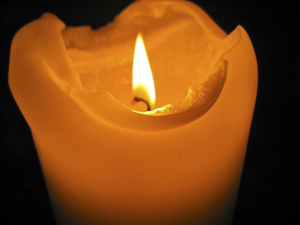 Download Free Stock Photo of Burning candle