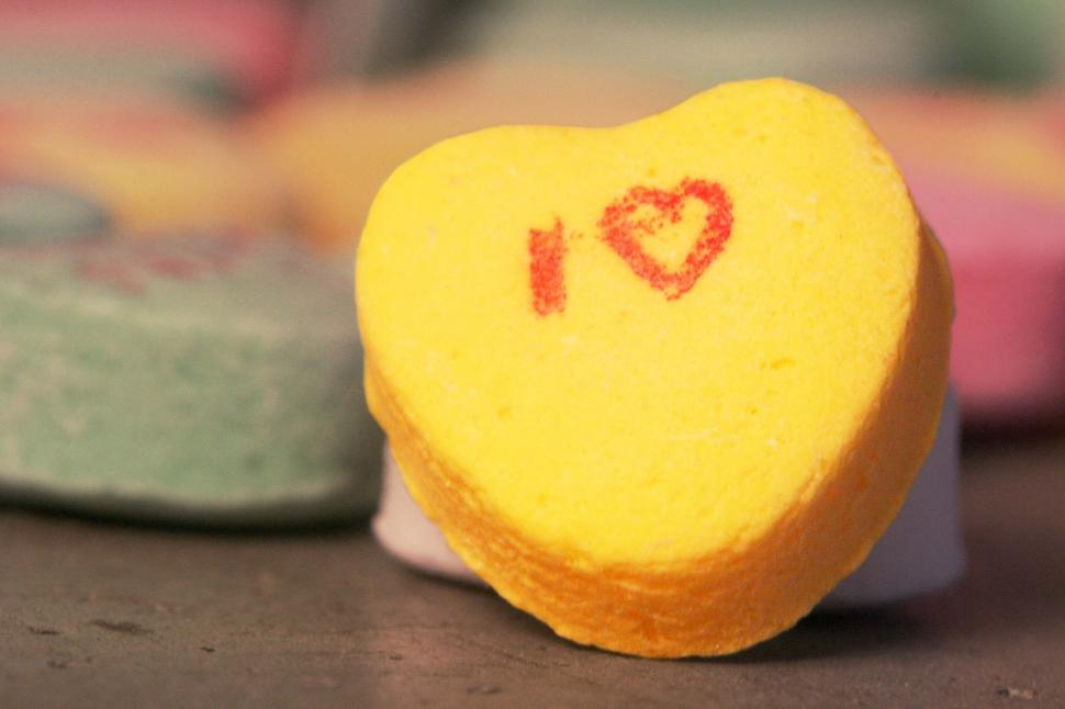 Download Free Stock HD Photo of Valentine Heart Candy Online