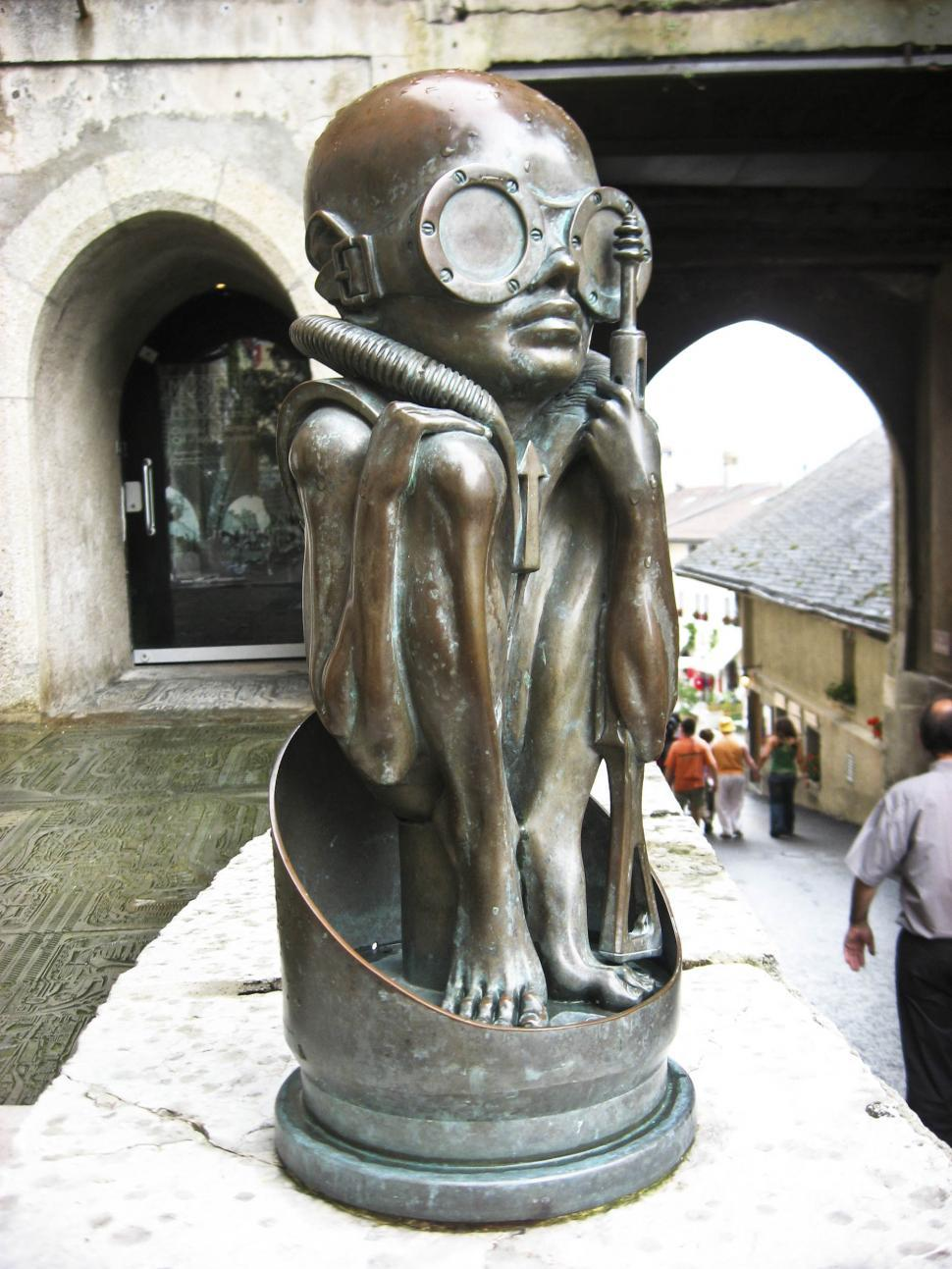 Download Free Stock Photo of Giger Museum Switzerland