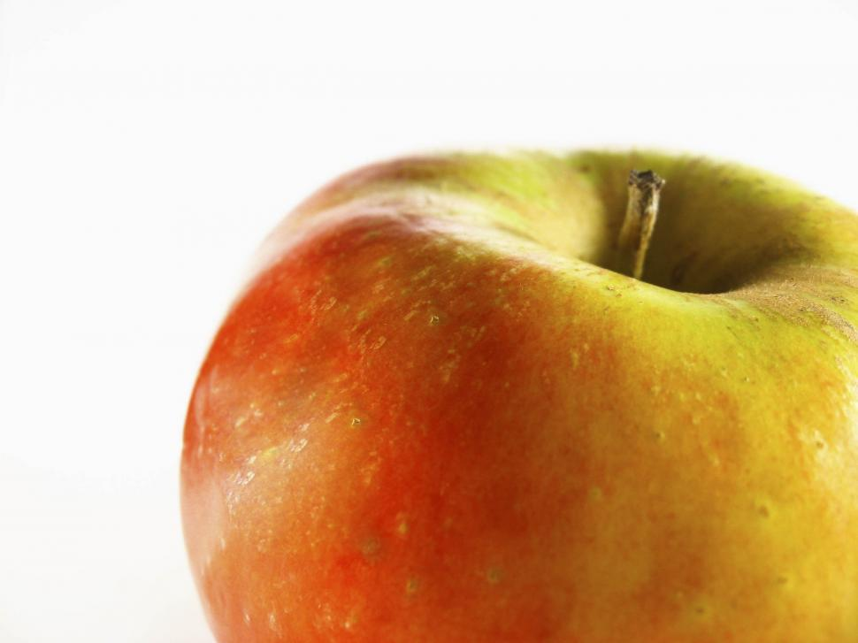 Download Free Stock Photo of Partial view of apple