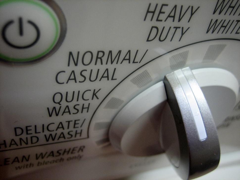Download Free Stock HD Photo of Knob on Washer Online