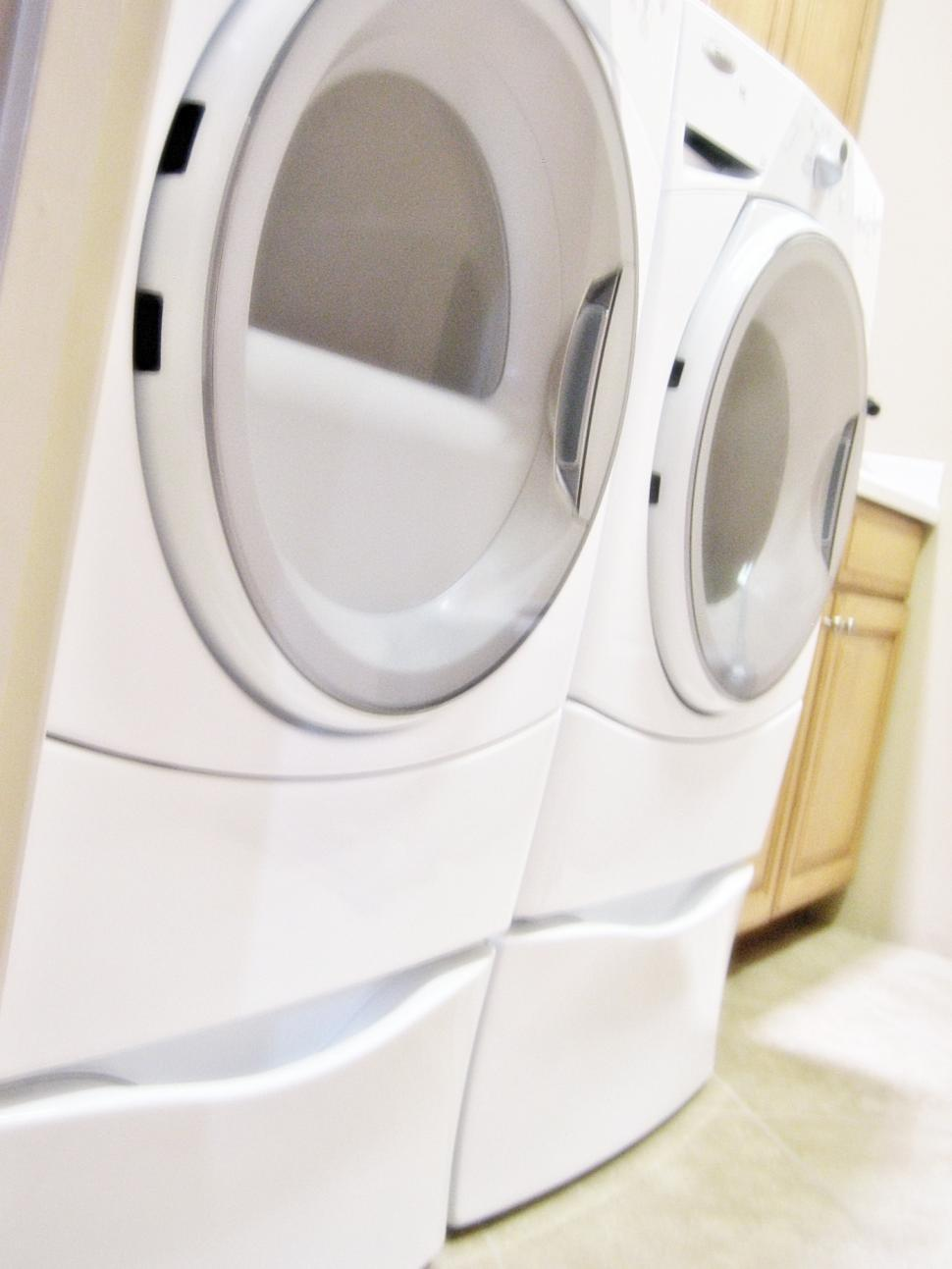 Download Free Stock HD Photo of Washer and Dryer Online