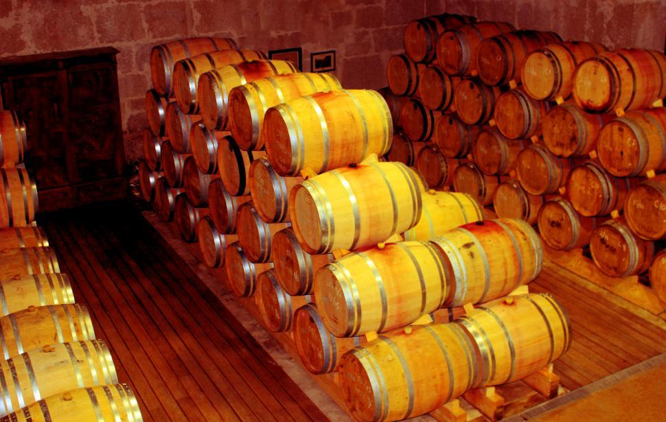 Download Free Stock Photo of Cellar - Wooden Barrels - Douro and Port Wine Barrels