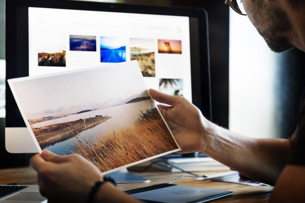 Download Free Stock Photo of Picture Editing
