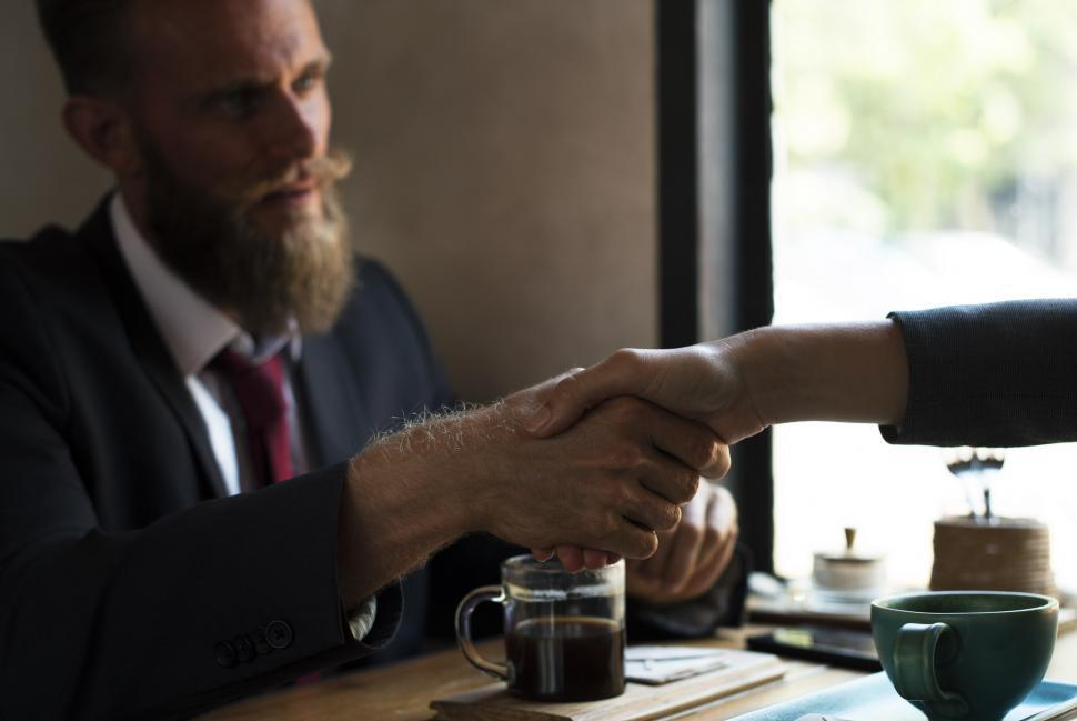 Download Free Stock Photo of Reaching an Agreement