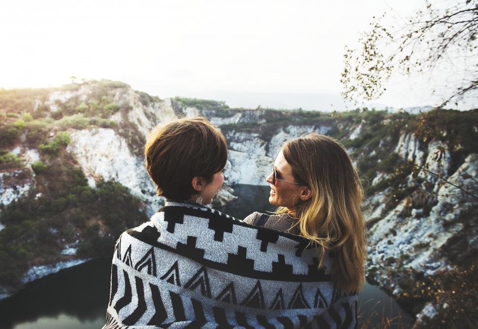 Download Free Stock HD Photo of Having fun on the Mountains Online