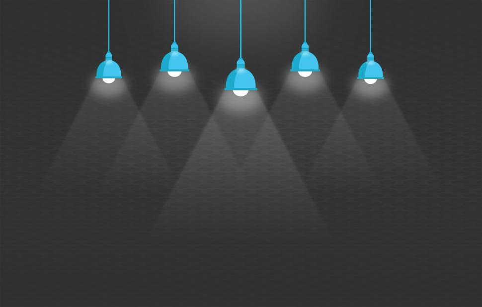 Download Free Stock HD Photo of Ceiling Lights - Illustration with Copyspace Online