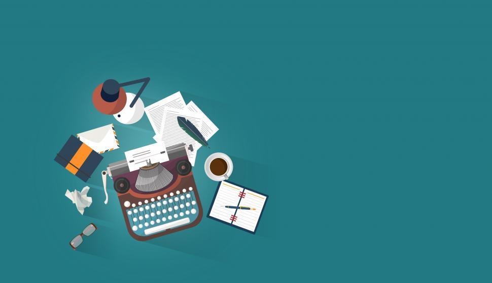 Download Free Stock HD Photo of Work Desk - Writer - Author - Creative Writing Concept Online