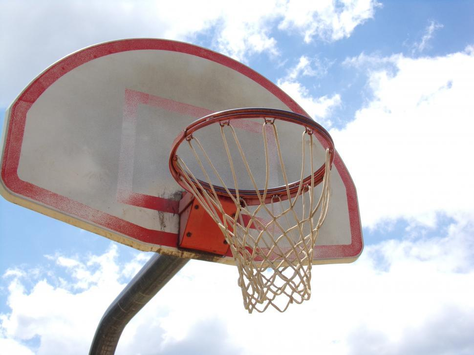 Download Free Stock Photo of Basketball goal