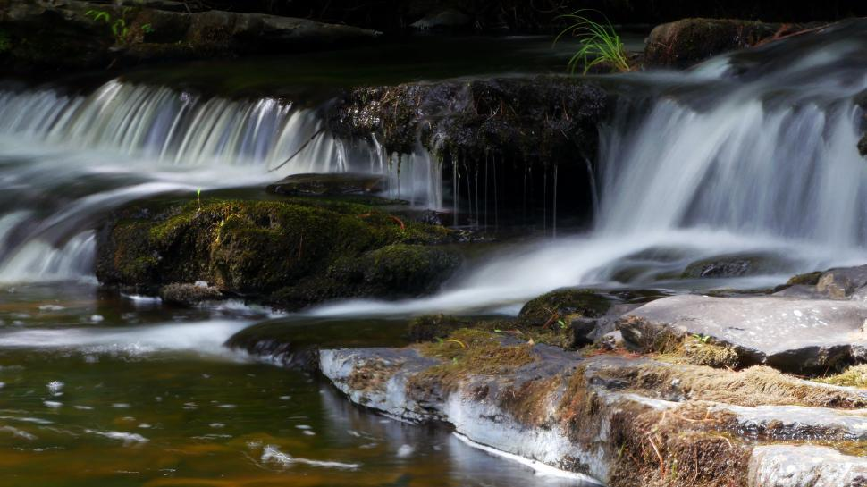 Download Free Stock Photo of Casade to Fulmer Falls