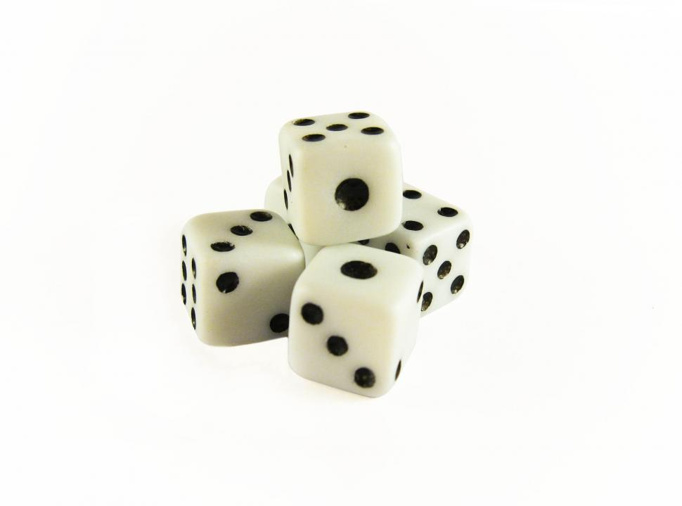 Download Free Stock Photo of Pile of dice