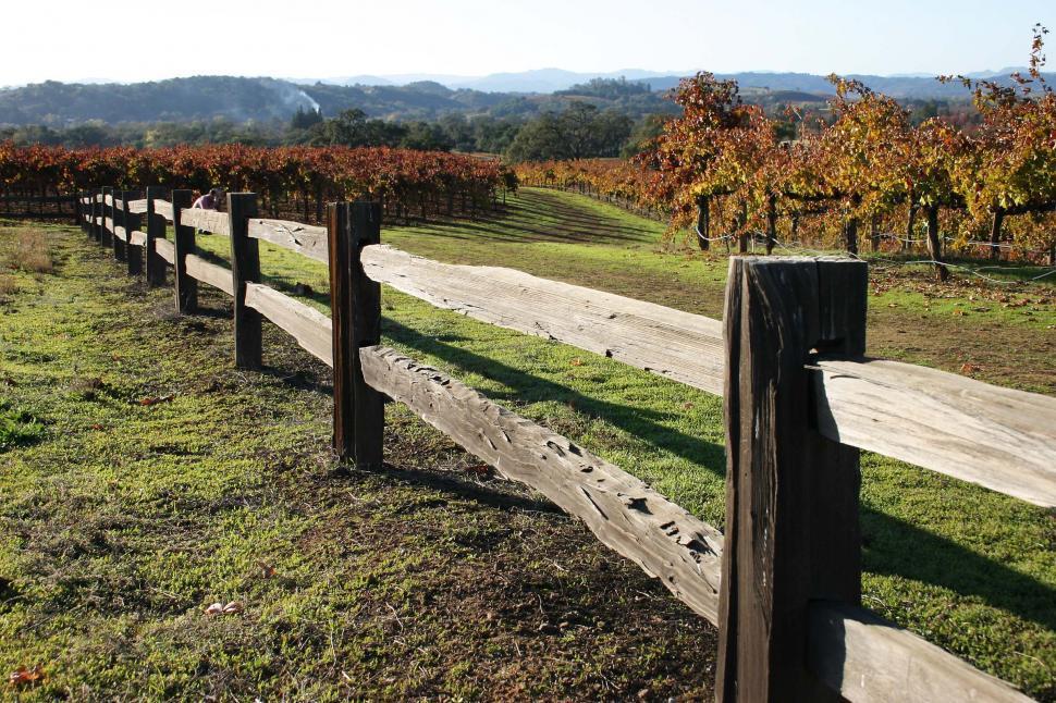 Download Free Stock HD Photo of Split rail fence Online