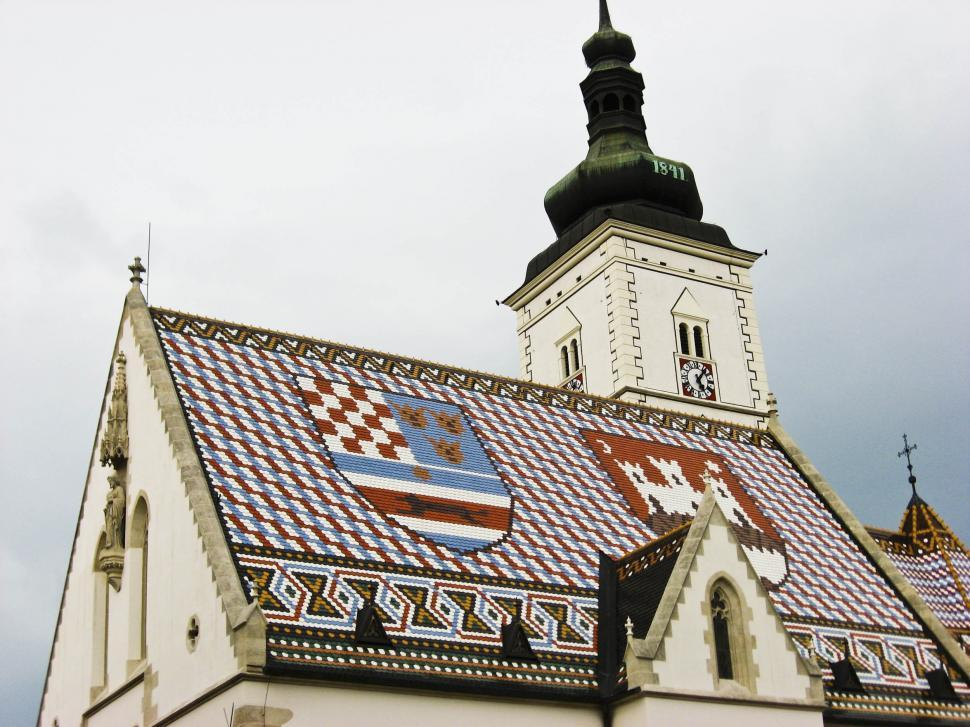 Download Free Stock HD Photo of Church of St Marco in Zagreb Online