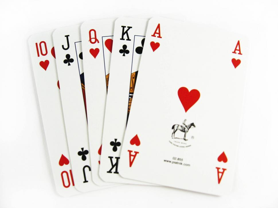 Download Free Stock Photo of playing cards