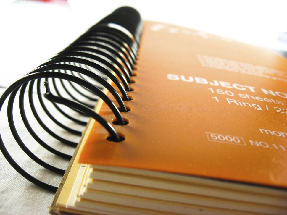 Download Free Stock HD Photo of notebook Online