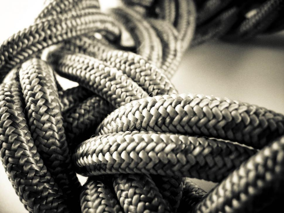 Download Free Stock Photo of alpinist rope