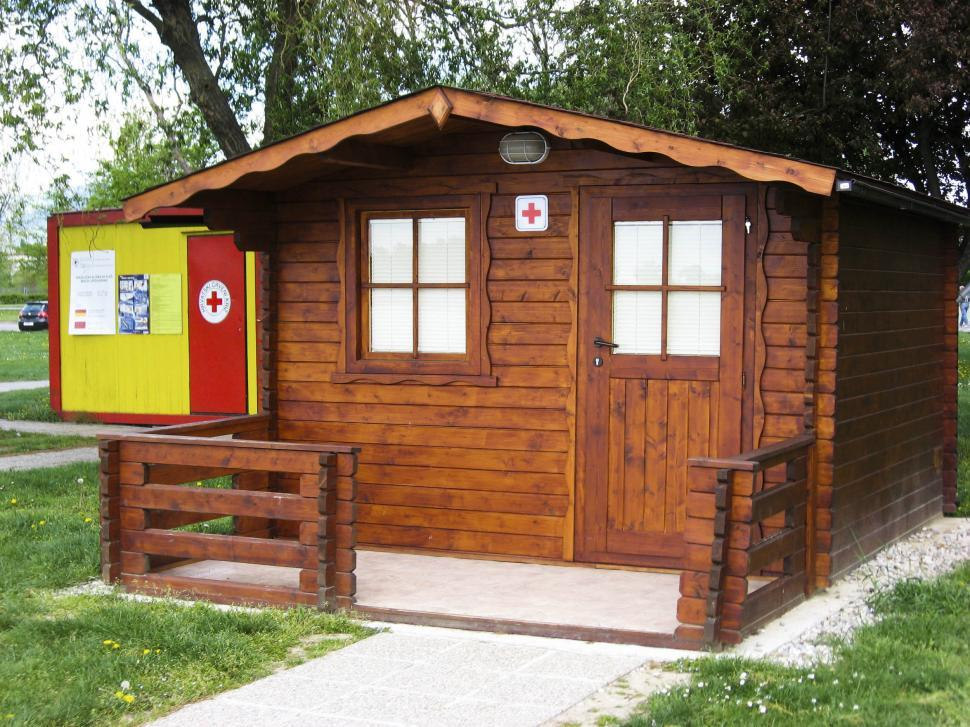 Download Free Stock HD Photo of wooden cabin Online