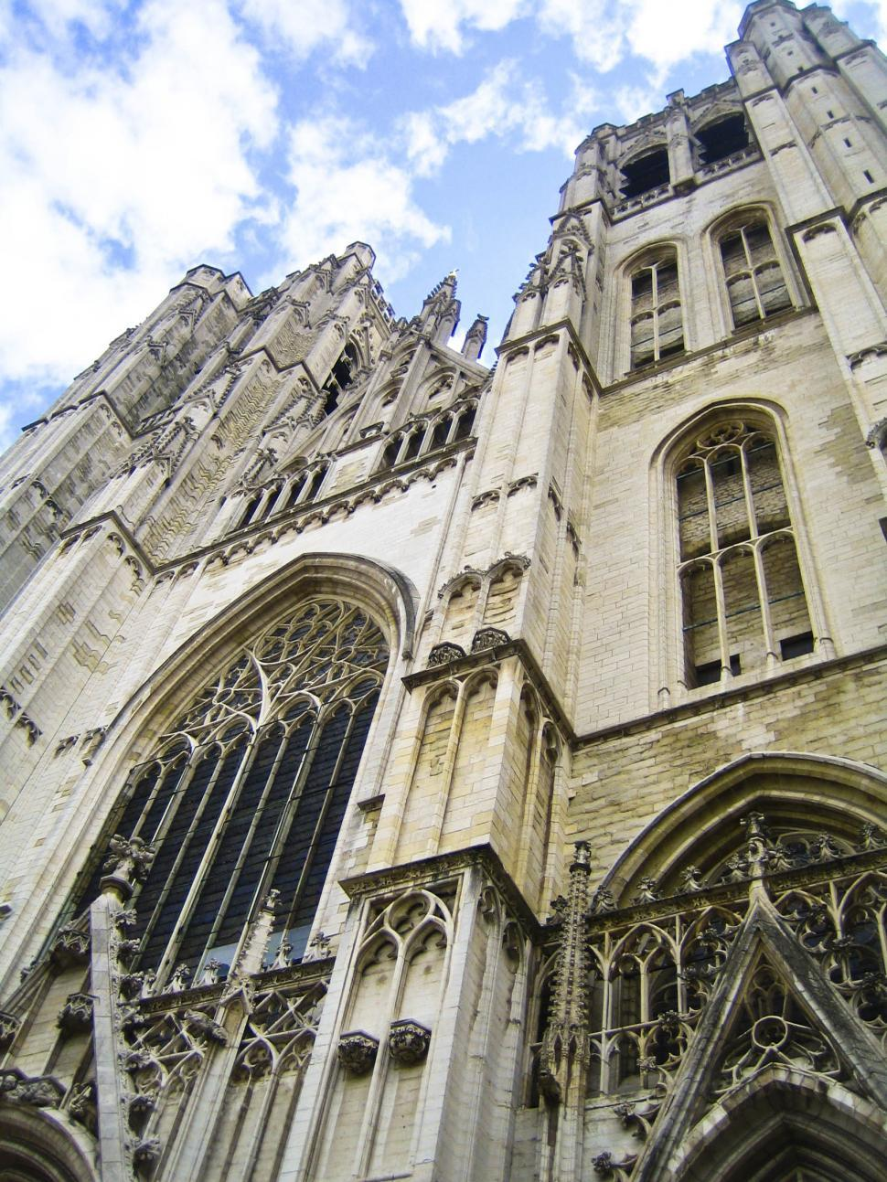Download Free Stock HD Photo of Brussels Cathedral Details Online
