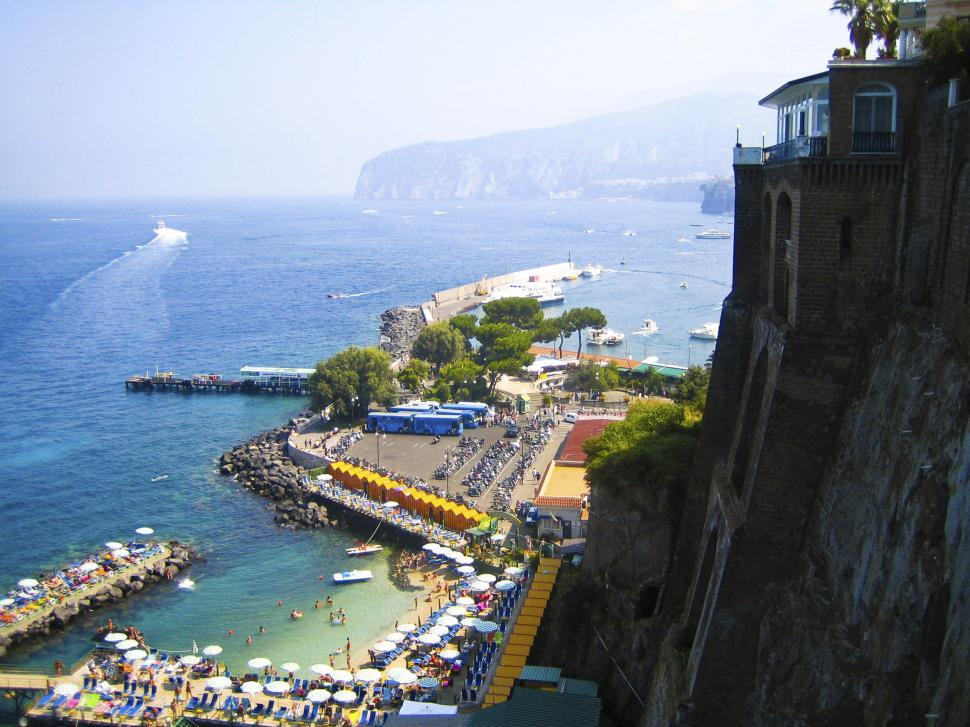 Download Free Stock HD Photo of Sicily seaside recreation Online