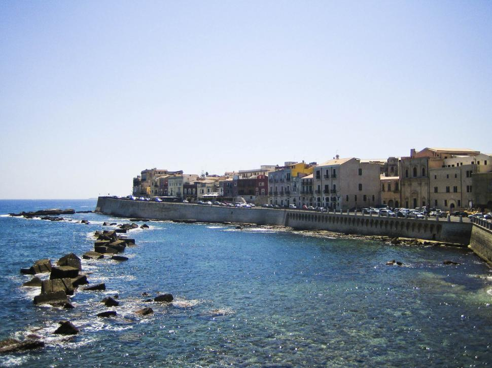 Download Free Stock Photo of Napoli coast