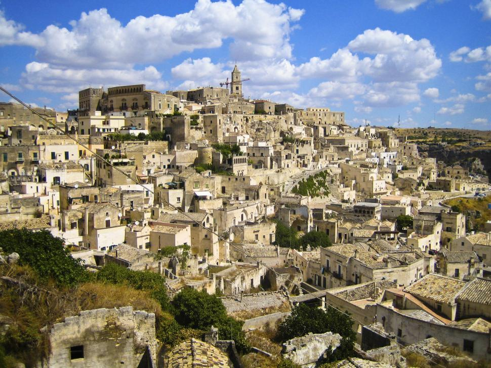 Download Free Stock Photo of City of Matera, Sicily