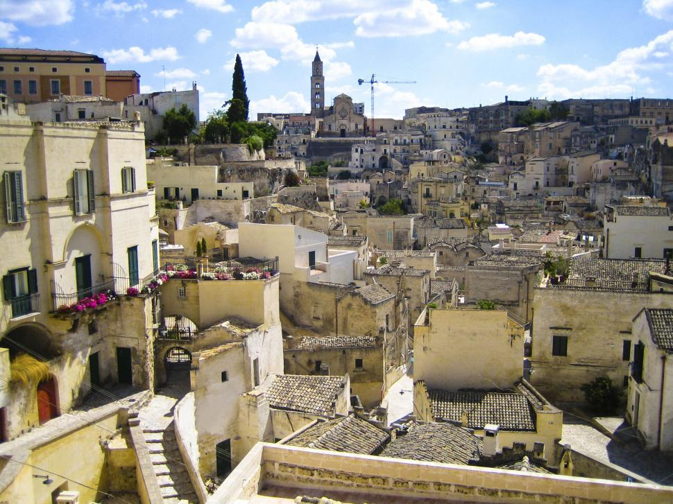 Download Free Stock Photo of Matera Sicily