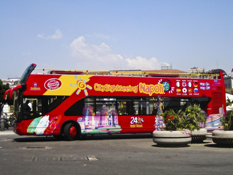 Download Free Stock HD Photo of sightseeing bus Online