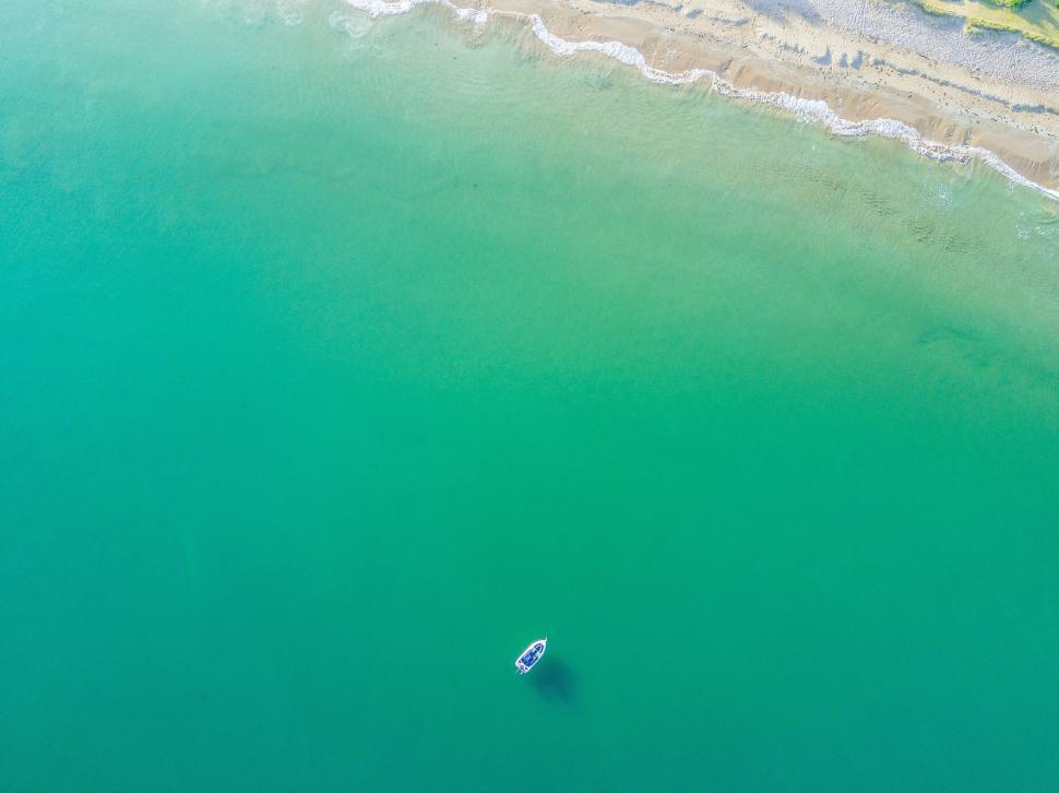 Download Free Stock Photo of water ocean clear sky sea summer light sun digital travel