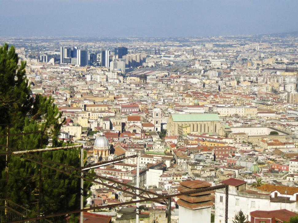 Download Free Stock HD Photo of Napoli city view Online