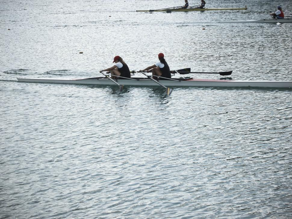 Download Free Stock Photo of rowing race
