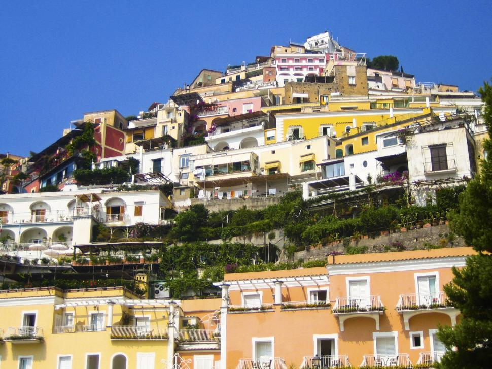 Download Free Stock Photo of salerno houses