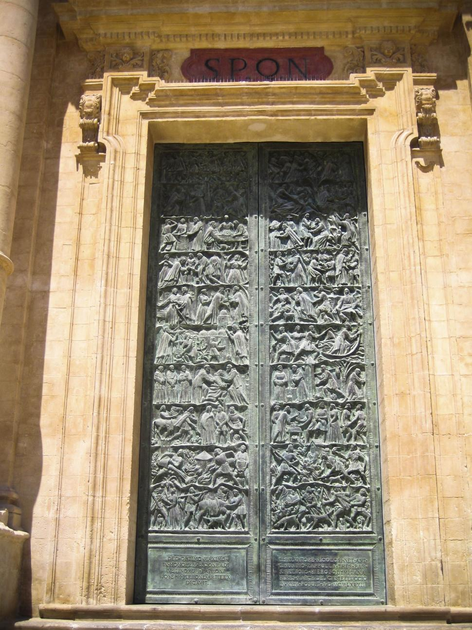 Download Free Stock HD Photo of Old ornamented metal doors Online