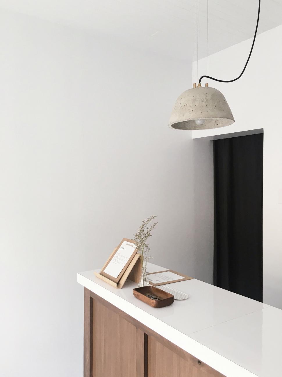 Download Free Stock Photo of table lamp lamp furniture washbasin basin furnishing