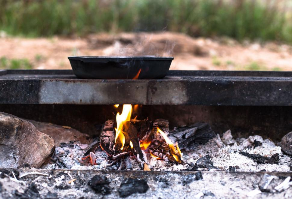 Download Free Stock Photo of barbecue oven rotisserie meat food grill cooking meal dinner kitchen appliance hot fire grilled cook lunch