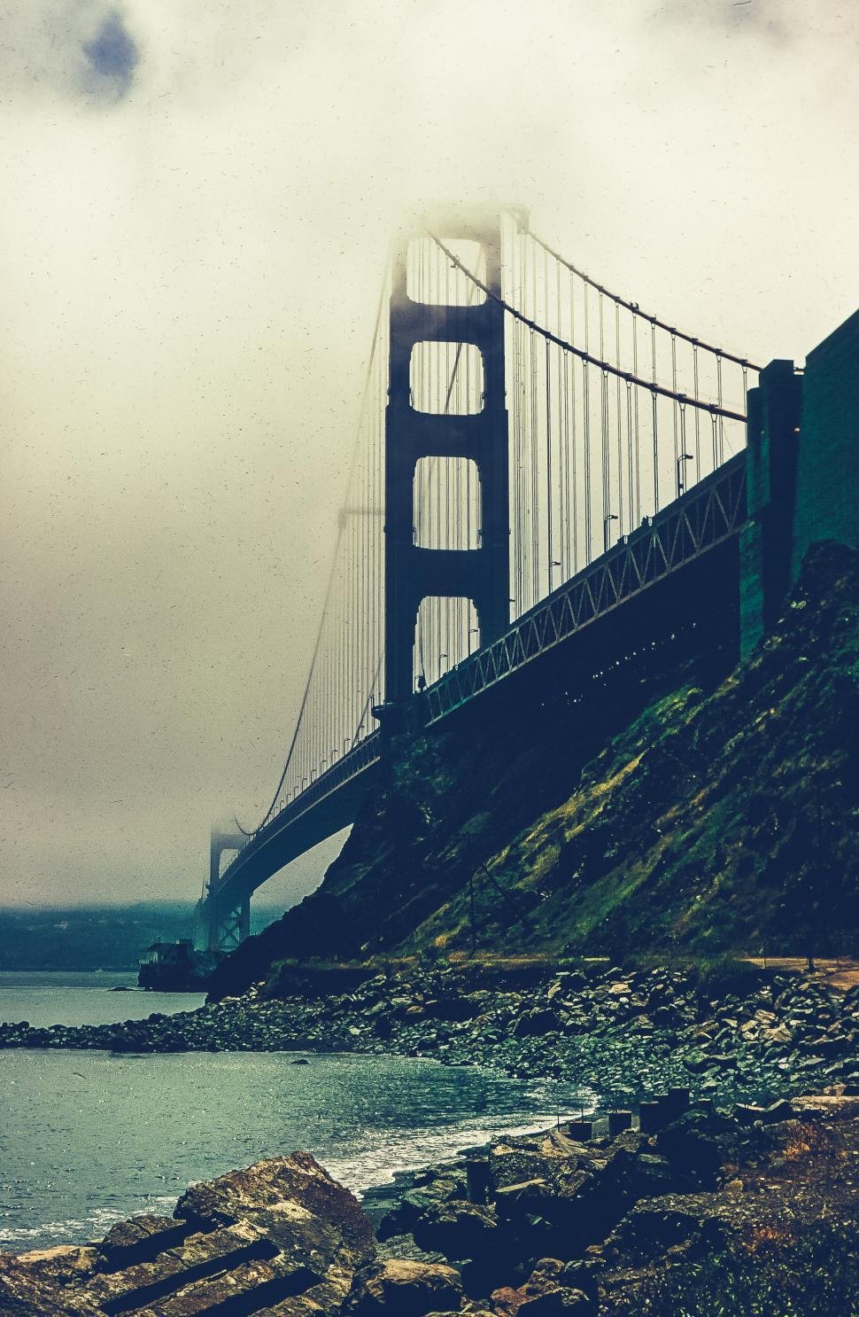 Download Free Stock HD Photo of View of Golden Gate Bridge Online