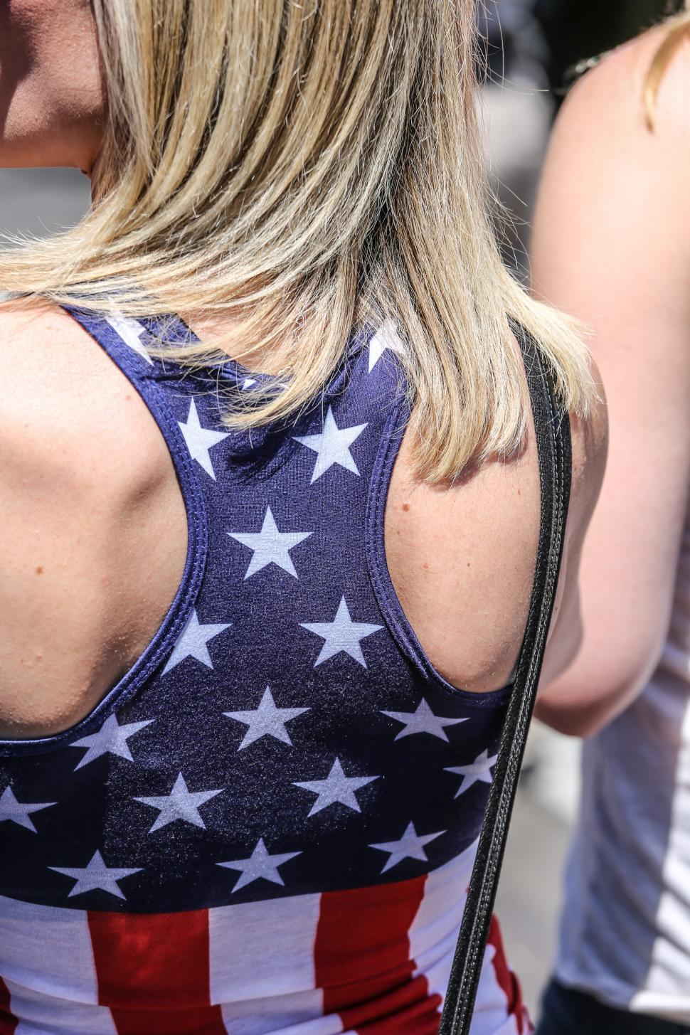 Download Free Stock Photo of Stars and stripes halter top