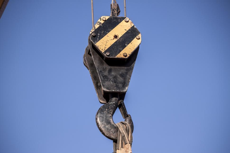 Download Free Stock HD Photo of Crane Hook Online