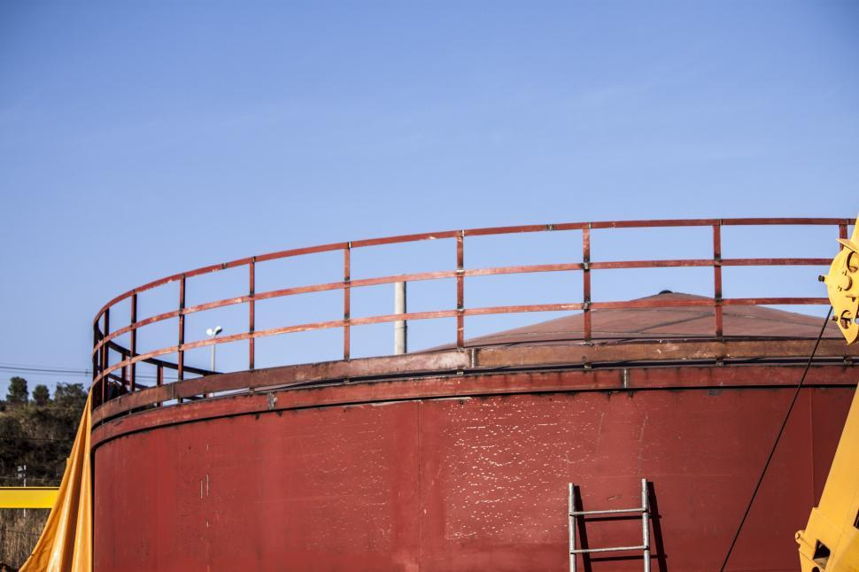 Download Free Stock HD Photo of Tank Handrail Online