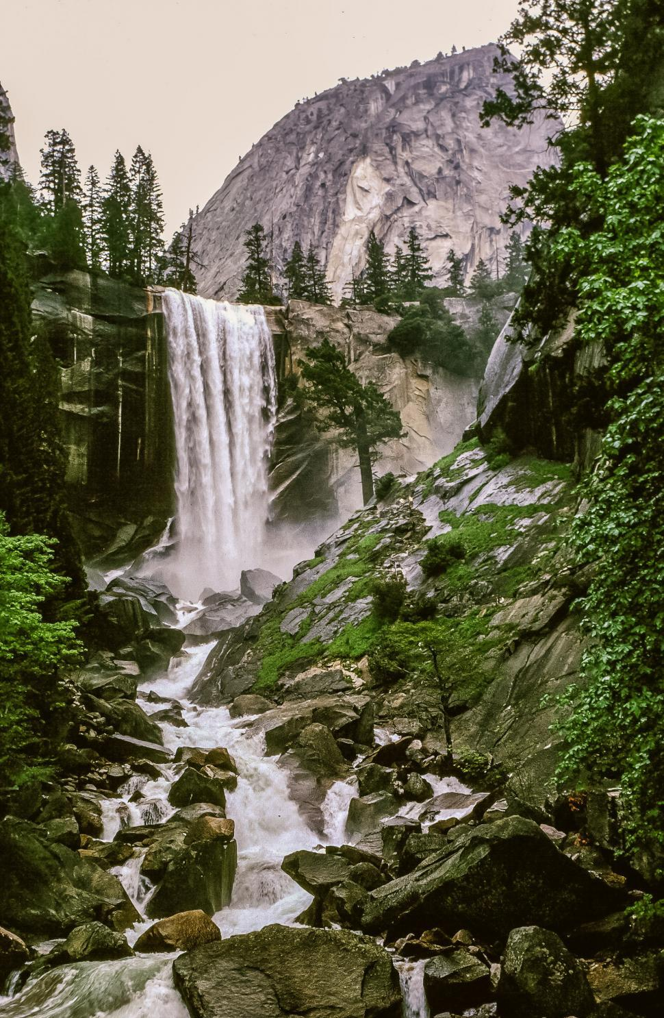 Download Free Stock HD Photo of Vernal Falls Online