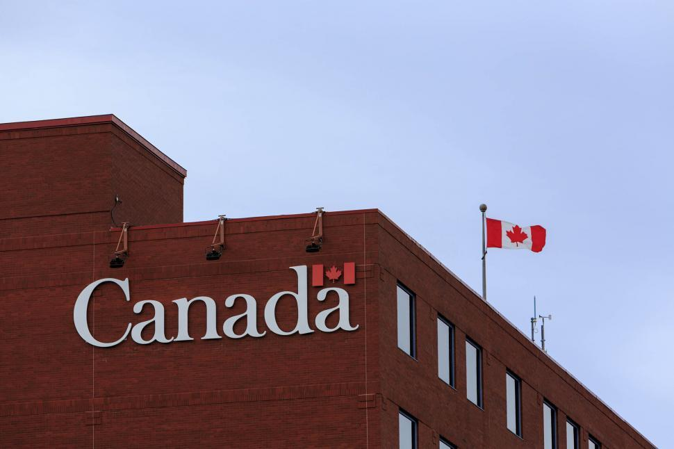 Download Free Stock HD Photo of Government of Canada Sign Online