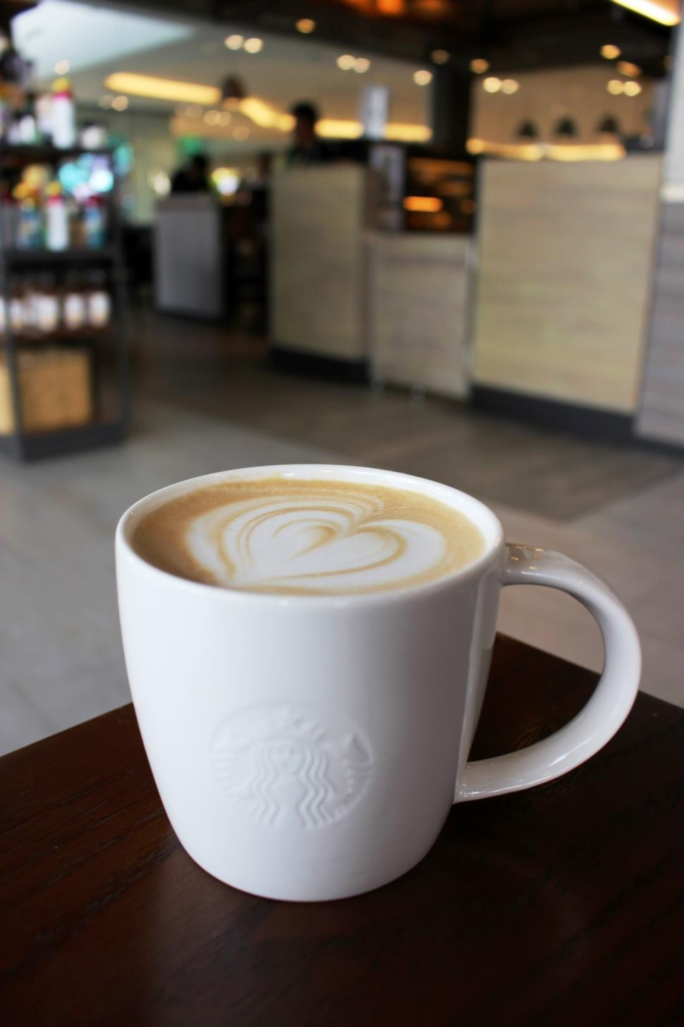 Download Free Stock HD Photo of Cup of Starbucks branded coffee  Online